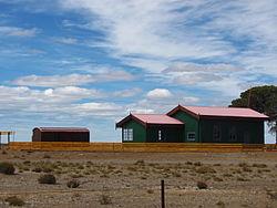 Vista actual de la estación Jaramillo.
