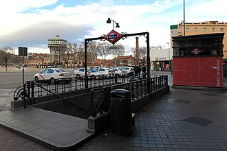 Legazpi (Madrid Metro) - Image: Estación de Legazpi