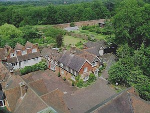 English: Estate Buildings at Warnham Lodge The...