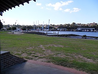 Rozelle Bay - Image: Esther Abrahams Pavilion view to Rozelle Bay
