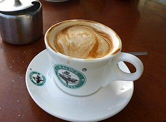 Caffè macchiato - Image: Ethiopian caffè macchiato