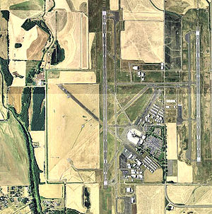 Eugene Airport - 2006 USGS Orthophoto