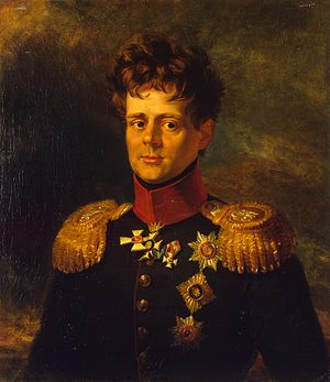 Duke Eugen of Württemberg (1788–1857) - Eugen of Württemberg, painting by George Dawe (Military Gallery of the Winter Palace)