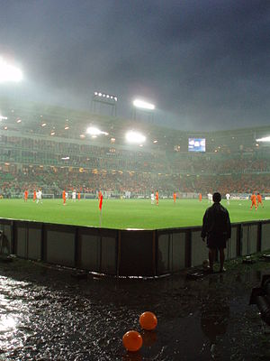 2007 UEFA European Under-21 Championship - The final, Netherlands–Serbia, in the rain