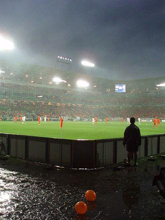 2007 UEFA European Under-21 Championship - The final, Netherlands–Serbia, in the rain