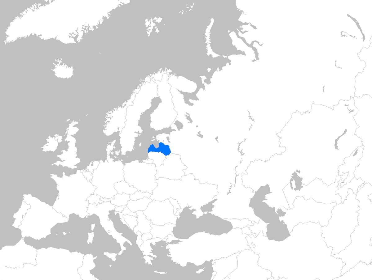 Picture of: File Europe Map Latvia Png Wikimedia Commons