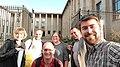 Europeana Art History Challenge Warsaw selfie.jpg