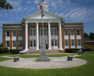 James J. Baldwin - Evans County Courthouse