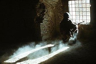 Soviet Armed Forces - Soviet soldier in Afghanistan, 1988