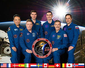 Expedition 29 - Image: Expedition 29 crew portrait