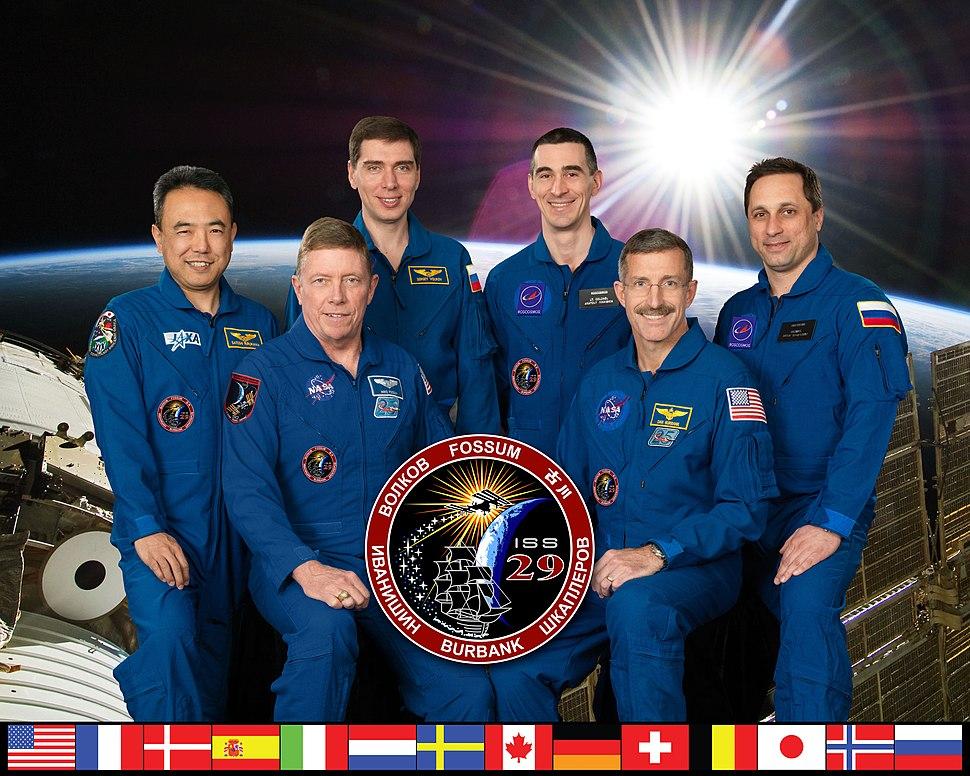 Expedition 29 crew portrait