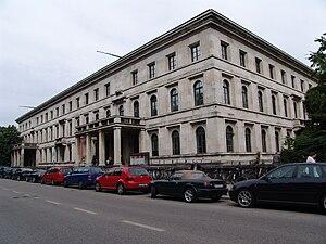 Königsplatz, Munich - The Führerbau in 2007