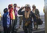F-35B Lightning II Aircraft land aboard USS America for Developmental Test Phase III 161119-N-YT019-0001.jpg