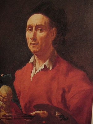 Francesco Capella - Self portrait, now at the Accademia Carrara in Bergamo