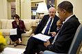 FEMA - 44034 - President Obama and FEMA Administrator Fugate at White House.jpg