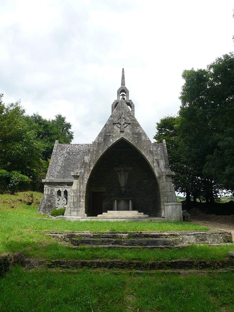Chapelle de Coat-Quéau (Finistère) par James Bouillé