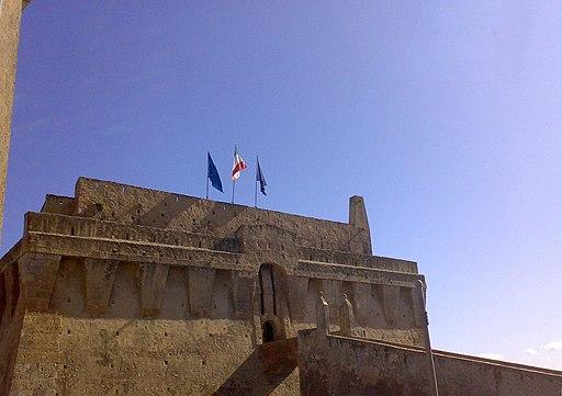 Fortezza Spagnola, facciata principale
