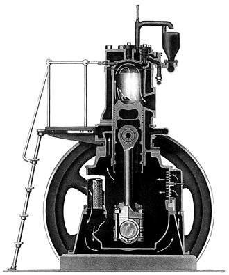 Diesel engine - Fairbanks Morse model 32
