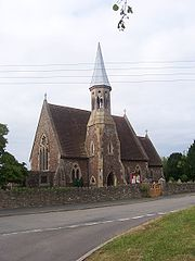 Falfield Church, near the A38