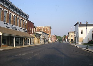Falmouth, Kentucky - Downtown Falmouth