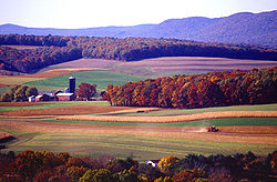 A farm near Klingerstown