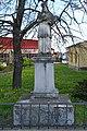 Fehérgyarmat, templomkerti Nepomuki Szent János-szobor 2021 02.jpg