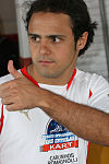 Felipe Massa at the 2007 Desafio Internacional das Estrelas kart race tournament