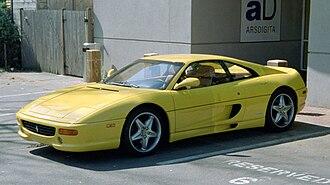 Ferrari F355 - Ferrari F355 Berlinetta