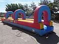 Festa Major de Montclar d'Urgell 2015 - Parc infantil d'atraccions aquàtic.JPG