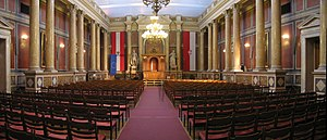 University of Vienna - Main Ceremonial Chamber (Großer Festsaal) in the Main Building