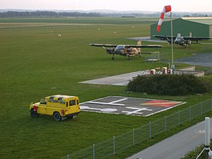 Aerodrome - Soest-Bad Sassendorf Airfield near Soest, Germany