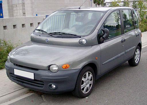 Fiat Multipla front 20080825