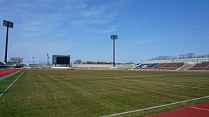 Field of Akita Municipal Yabase Athletic Stadium 20190414.jpg