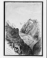 "Fiesch Glacier from Eggishorn (from ""Splendid Mountain Watercolours"" Sketchbook) MET 219193.jpg"