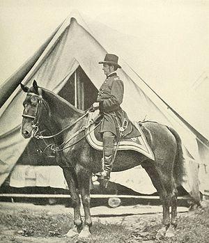 """Joseph Hooker - General """"Fightin' Joe"""" Hooker"""