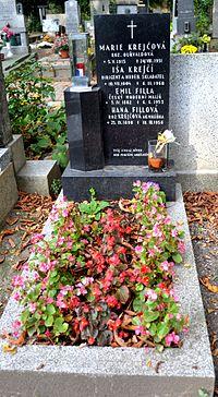 Filla Krejčí hrob.JPG