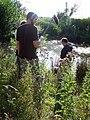 Film crew at lake making movie.jpg