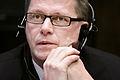 Finlands statsminister Matti Vanhanen vid Nordiska radets session i Helsingfors 2008-10-28.jpg