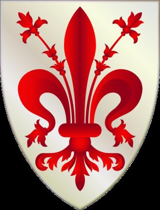 Battle of Campaldino - Image: Firenze Stemma