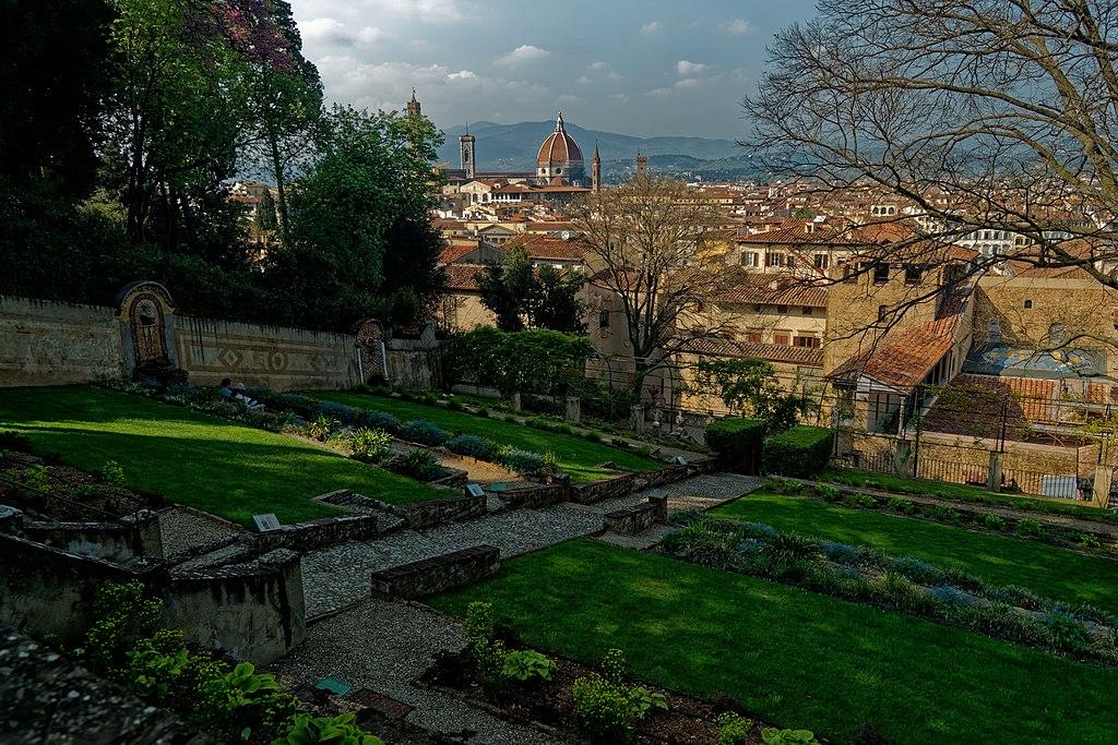Firenze - Florence | Giardino Bardini, view north towards the  Duomo