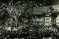 Fireworks in brussel 1686 in conmemoration of the liberation of hungary.jpg