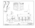 First Congregational Church, Union Street, Rockton, Winnebago County, IL HABS ILL,101-ROCT,1- (sheet 3 of 5).png