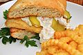 Fish sandwich with dill tartar sauce.jpg