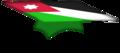 Flag of Jordan graduation hat.png