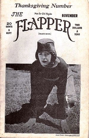 """Cover of magazine """"The Flapper"""" for ..."""