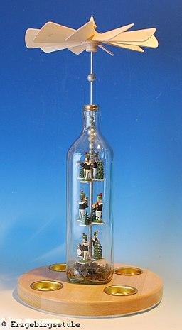 Flaschenpyramide