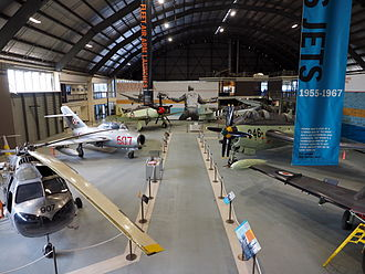 "Fleet Air Arm Museum (Australia) - The ""Fleet Air Arm Launches"" section of the museum"