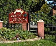 Fleetwood Neighborhood Association Welcom Sign 2012