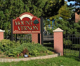 Mount Vernon, New York - Fleetwood Welcome Sign