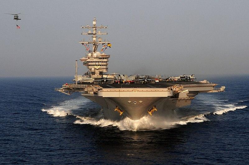 Как американские авианосцы готовятся к боевому дежурству